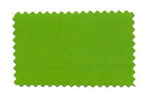 green paper sample