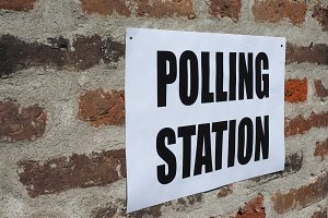 General elections polling station