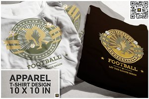 Football Competition Theme T-shirt