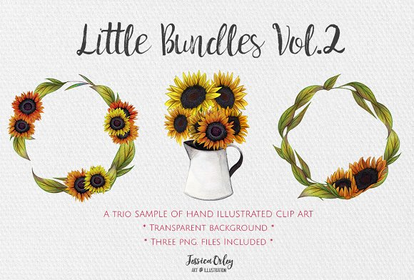 Little Bundles Vol.2 Sunflowers