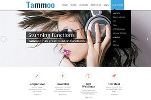 Tammoo - Responsive WP Business