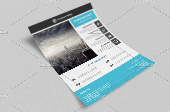 Corporate Flyer Template in Flyer Templates - product preview 1