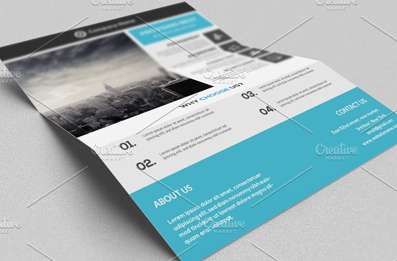 Corporate Flyer Template in Flyer Templates - product preview 2
