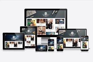 Blogger Template-Sparkle Grid