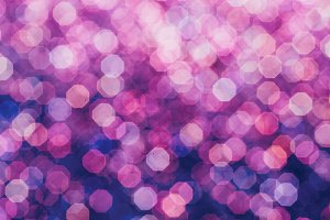 Purple bokeh minimal art