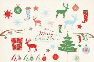 Christmas Digital Clip Art