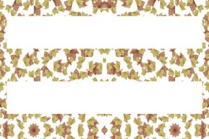 Stylized Leaves Seamless Pattern