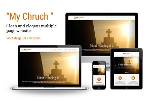 My Church - Bootstrap Template