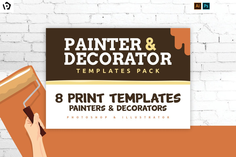 Painter Decorator Templates Pack