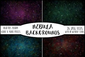 26 Beautiful Nebula Backgrounds