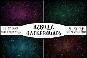 26 Beautiful Nebula Backgrounds