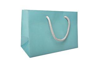 Tiffany Blue color paper bag