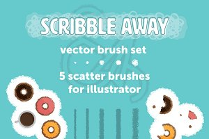 Scribble Away: Vector Brush Set