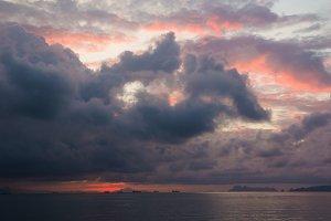 Sunrise Over Andaman Sea