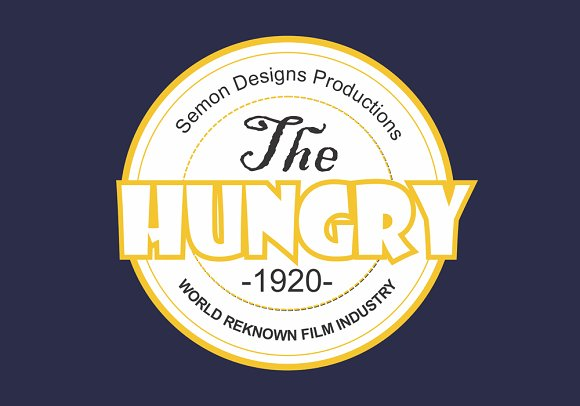 Logo Type Template ( Coreldraw) ~ Logo Templates ~ Creative Market