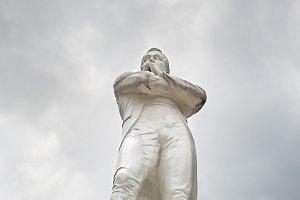Tomas Stamford Raffles sculpture