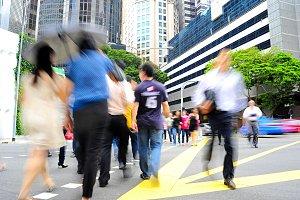 Rush hour Singapore