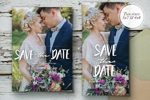 Sunset Romance Save The Date