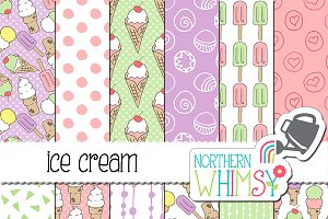 Summer Patterns - Ice Cream