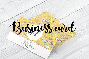 Feminine Business card design - Y
