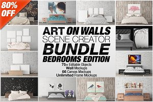 Art On Walls Scene Creator Bundle V2