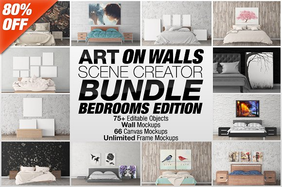 Free Art On Walls Scene Creator Bundle V2