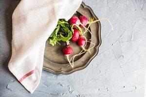 Organic food concet