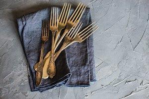 Rustic flatware