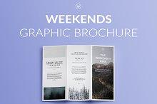 WEEKENDS | Graphic Brochure