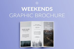WEEKENDS | Graphic Brochure