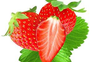 Freshness strawberries