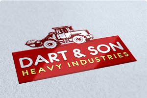 Heavy Industry Logo Design