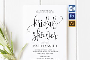 Bridal Shower Invitation Wpc41