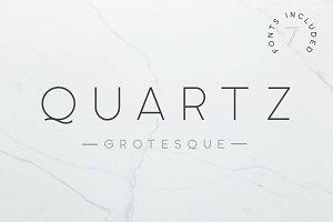 Quartz Grotesque - 7 Font Styles