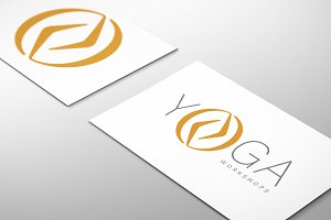 Yoga Logo : 16 variations