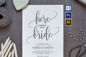 Bridal Shower Invitation Wpc42