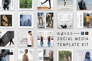 W ∆ V E S-Social Media Pack