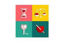 Love Measure and Medicine Heart