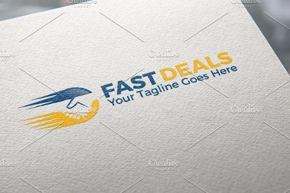 Fast Deals Logo Template