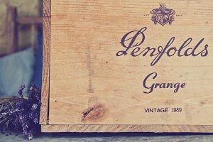 Lavender & Vintage Wine