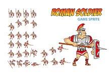 Roman Soldier Game Sprite