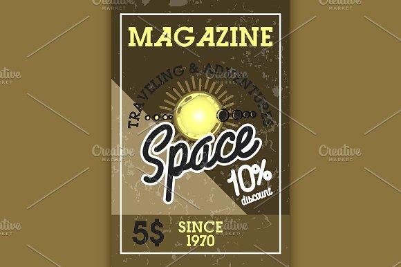 Color Vintage Space Banner
