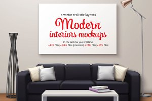 Modern Interior Mockups