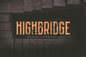 HIGHBRIDGE Typeface