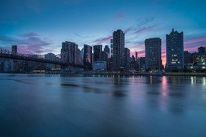 Sunset in Midtown Manhattan
