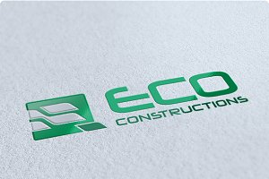 Eco Constructions Logo Design