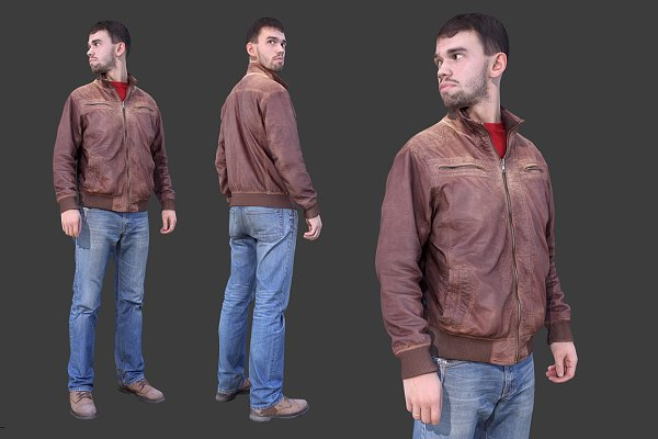 3D Models: kanistra studio - Casual Man