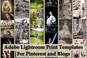 Adobe Lightroom Print Templates