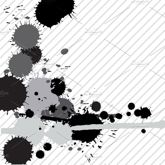 Ink Splashes