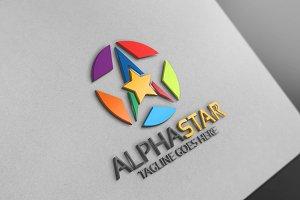 Alpha Star Logo -  A Letter